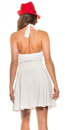 In-Stylefashion - Vestido - para mujer blanco