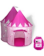 Save Big on Princess Castle Play Tent with Glow in The Dark Stars