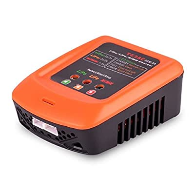 TE3AC 100V-240V 25W 3S NiMH Battery Balance Charger - RC Toys & Hobbies Battery & Charger - 1xTE3AC Li-Po battery balance charger (Built in Power Supply), 1x AC Power Supply wire