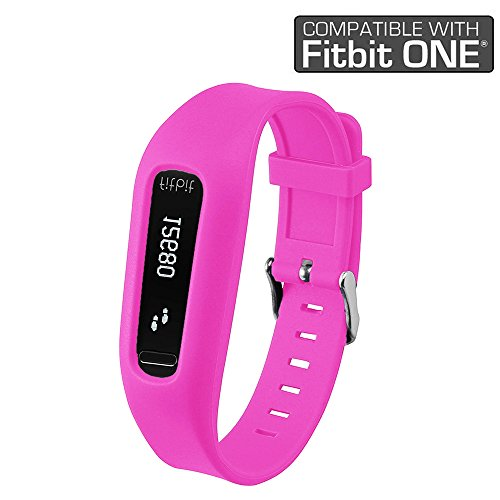 UPC 717630205902, Fitbit ONE Band By Allrun, 1PC Replacement Band for Fitbit ONE Accessory Wristband Bracelet (No tracker) (Pink)