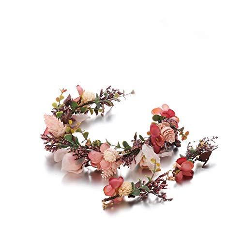 2 Pieces Flower Crown...