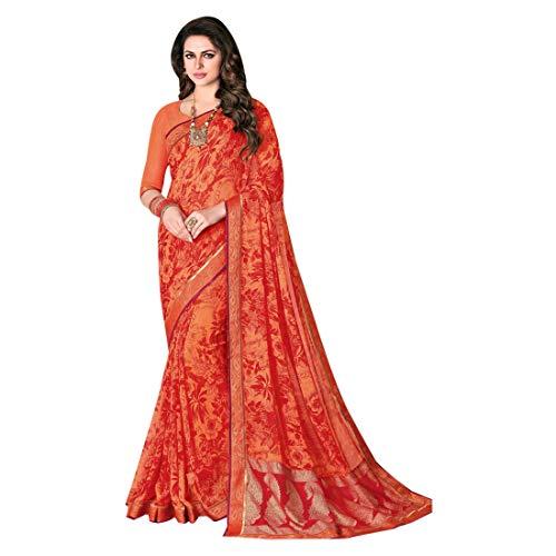 Women ETHNIC Georgette Sari Party hochzet 730 New Saree Designer indiano Tradizionale Crape EMPORIUM Ladies Skirt Designer Wear Dress Blouse etnico Bollywood Wedding aqZa4xp