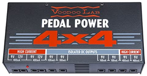 Voodoo Lab Pedal Power 4x4 Linear (Analog) Power Supply - Voodoo Labs Cables