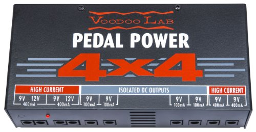 Voodoo Lab Pedal Power 4X4 Isolated Power Supply by Voodoo Lab