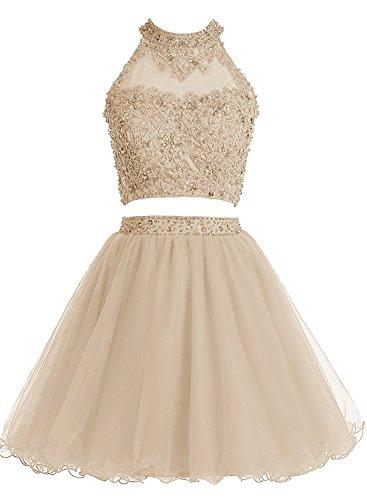2 Piece Short Dress Cocktail Dress - 2