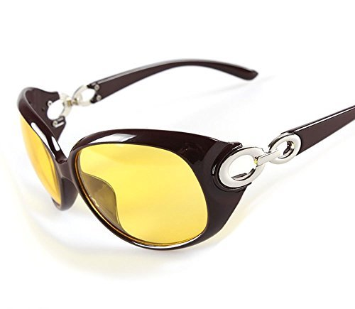 Ms. mirror night vision goggles is a machine dedicated car driving at night anti-glare - Dior Swarovski Sunglasses
