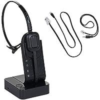 Polycom Wireless Headset IP320 IP321 IP330 IP331 IP335 IP430 IP450 IP550 IP560 IP650 IP670 VVX300 VVX310 VVX400 VVX410 VVX500 VVX600 VVX1500 plus EHS cord