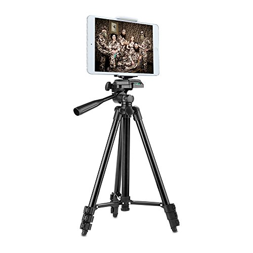 Heavy Duty Smartphone Tripod Kit, 50' Portable...