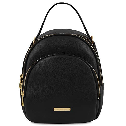 Nero Zaino Leather Tuscany In Donna Pelle Tlbag EzWAwY