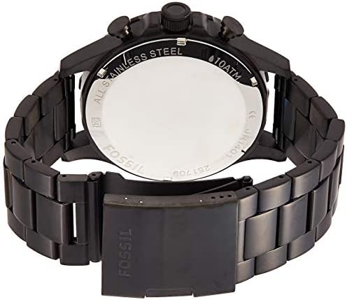 Fossil Men's Nate Stainless Steel Chronograph Quartz Watch WeeklyReviewer