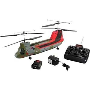 Revell Control 24054 Ready-to-Fly - Helicóptero Chinook teledirigido con mando de 27 MHz