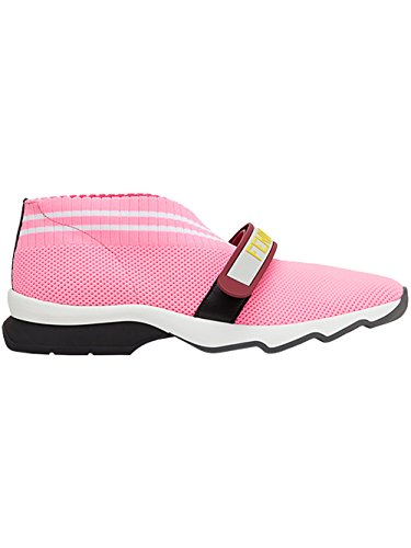 Fendi Slip On Sneakers Donna 8E6701ODHF09G8 Poliammide Rosa