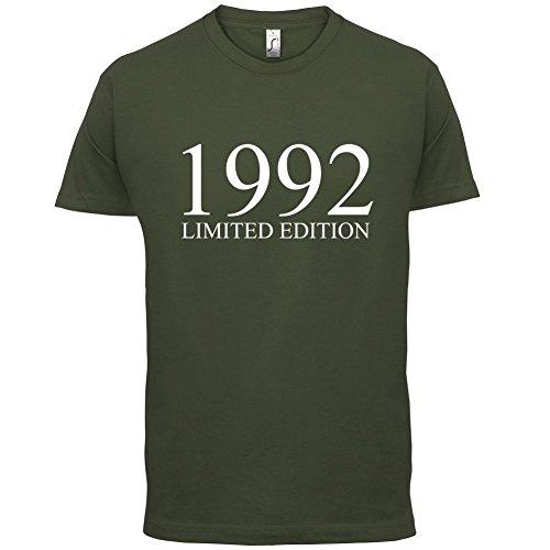 1992 Limierte Auflage / Limited Edition - 25. Geburtstag - Herren T-Shirt - Olivgrün - XL