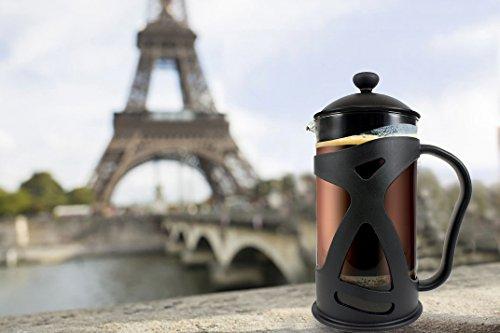 French Press Coffee & Tea Makers 12 Cup (1.5 liter, 51 oz) (Chrome, 1.5L, 51 oz)