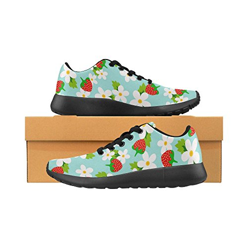 Running Athletic Comfort Sneaker Jogging Go Walking Sports Easy Womens Shoes Lightweight InterestPrint 6qv1ZWE