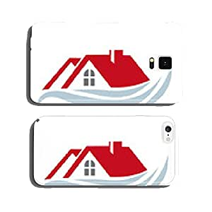 House icon cell phone cover case Samsung S6
