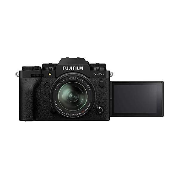 RetinaPix Fujifilm X-T4 Mirrorless Digital Camera (with 18-55mm Lens, Black)