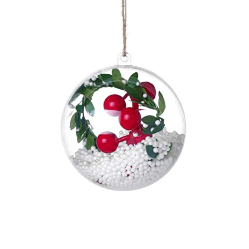 UKURO Christmas Tree Pendant Hanging Home Ornament Christmas Decoration Ball Light for Children Room adornos de Navidad para -