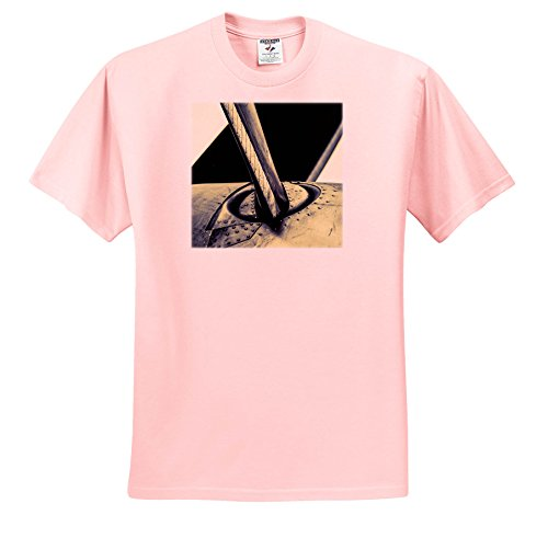 Price comparison product image 3dRose Alexis Photography - Transport Air - Stylized Image Of an Aircraft Spinner and Propeller. Closeup View - T-Shirts - Toddler Light-Pink-T-Shirt (4T) (TS_267359_49)