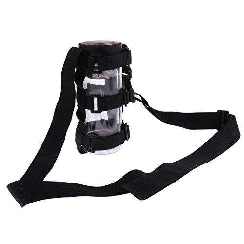 FidgetFidget Water Bottle Carrier Holder Fully Adjustable Cycling Hiking Sling Webbing by FidgetFidget