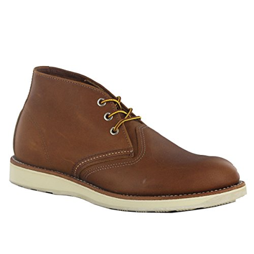 Red Wing Men's Heritage Work Chukka Boot, Oro-iginal, 10 D(M) (Red Wing Casual Boots)