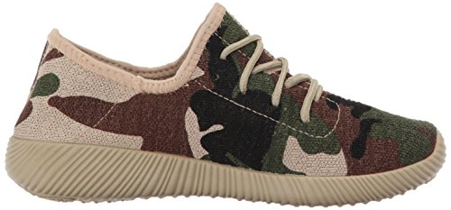 Sneaker Khaki Di Qupid Womens Nacara-01 Fashion Sneaker