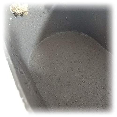 jard/ín minicubo balc/ón decoraci/ón Exterior Metal Artificial MoGist Maceta a/ño Creativo Ovalada macetas Decorativas para Interior