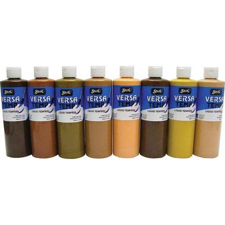 PACK OF 2 - Sax Versatemp Tempera Paint, 1-Pint, Multicultural, Set of 8 by Sax