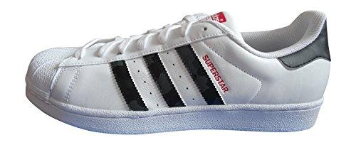 Junior Bambino Fashion Sneakers Ragazza Smith Adidas M20605 scarlatto nero Stan Aq2349 Ftww qBEwqRX