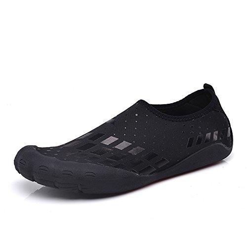 Quick Aerobics black Water Pool Socks Yoga Swim Square Water for Fivefingers Aqua Shoes Beach Shoes Dry Mens Surf Shoes rqTwqRZXx