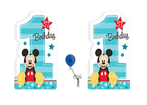 Disneys Mickey Mouse 1ST Birthday Party Invitations 16 (Baby Mickey Mouse Invitations)