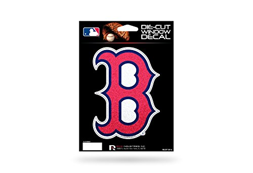 Rico Industries MLB Boston Red Sox Decal, One Size, Team Color, Team Colors