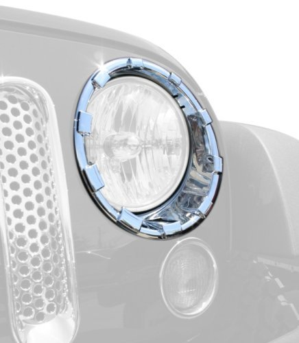 (Putco 401270 Headlamp Overlay and Ring by)