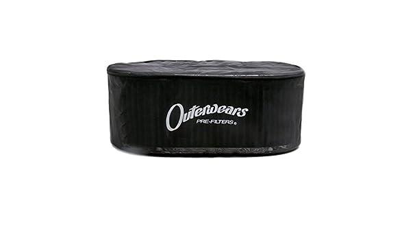 Black Outerwear Prefilter Oval 5.5 X 9 X 3.5 10-1098-01