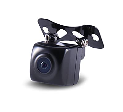 Gazer CC110 HD Universal Car Rear-view Backup Camera with Distance Guide Lines (Waterproof IP67/NTSC/Super CMOS/170-Degree Viewing Angle/Best Night Vision)