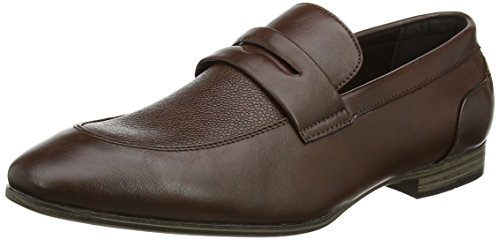 Smart New Marrone Look Loafer 27 Uomo Dark Brown Mocassini Formal OOfqrT5