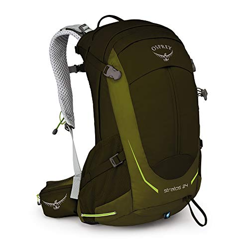 Osprey Packs Stratos 24 Backpack, Gator green, o/s, One Size