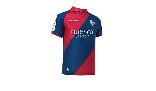 KELME SD Huesca Primera Equipación 2018-2019 94cd467a404