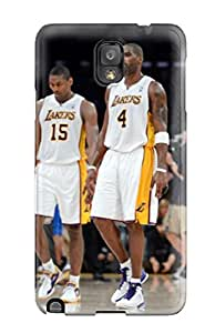 los angeles lakers nba basketball (35) NBA Sports & Colleges colorful Note 3 cases