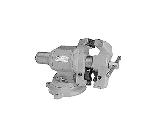 """1.5/"""" Width x 1/"""" Depth Jaw 1.5/"""" Jaw HHIP 3900-1730 Grooved Jaw Drill Press Vise"""