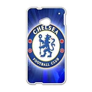 Chelsea Fc Sport 0 5 HTC One M7 Cell Phone Case White TPU Phone Case SV_102483