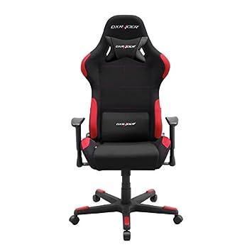 DX Racer Chaise De Bureau OH FD01 NR Noir Rouge L