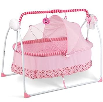 Perfect Automatic Baby Cradle Electric Baby Intelligent Swing Bed Rocking Chair  Nersery Bassinets