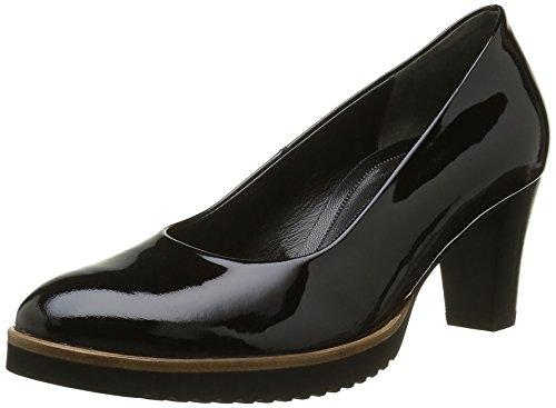 Gabor Shoes Comfort Fashion, Zapatos de Tacón para Mujer Negro (schwarzS.S/C A.S)