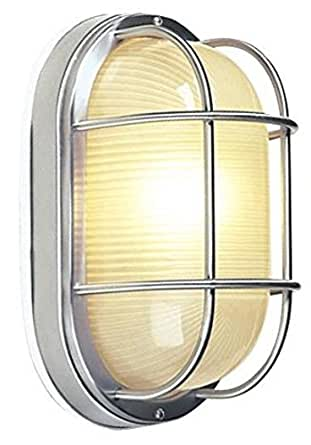 Craftmade Z397-07 Marine Light with Frosted Halophane Glass Shades, Rust Finish