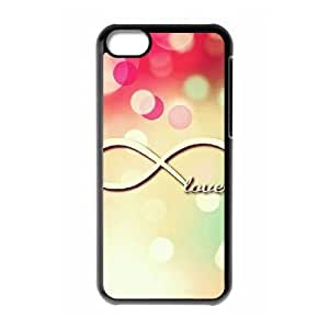 infinity love CUSTOM Hard Case for ipod touch4 LMc-02845 at LaiMc