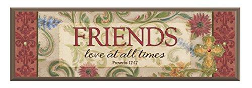 CB Gift Simple harmony Plaque, Friends, Proverbs 17 Harmony Plaque