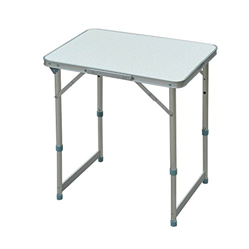 Outdoor Portable Aluminum Camping Picnic Folding Dining Table 23.5 L X 17.5 W