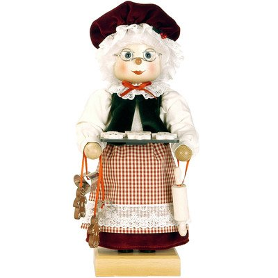0-447 - Christian Ulbricht Nutcracker - Mrs. Claus - Ltd Edition 1000 pcs - 15.5''''H x 7''''W x 7.5''''D by Christian Ulbricht