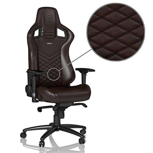 Price comparison product image noblechairs EPIC Series Real Leather Brown / Black